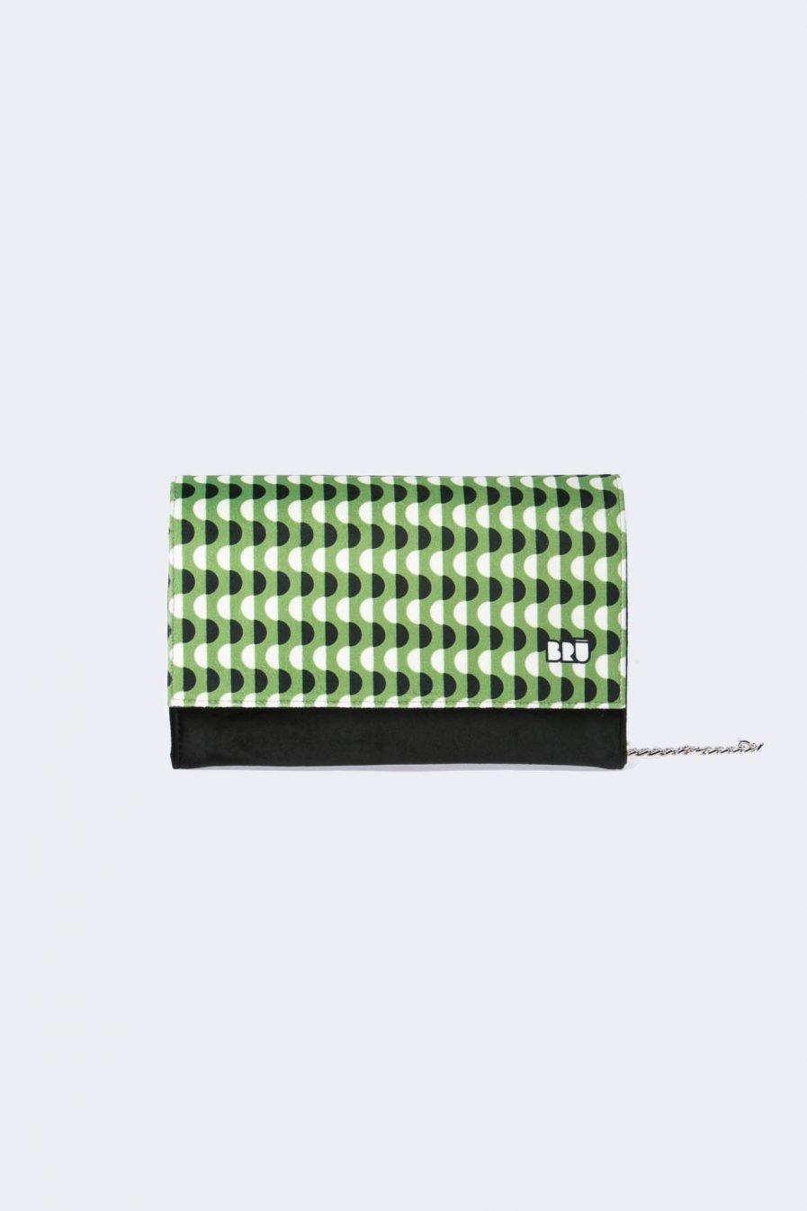 borsetta green waves trasformabile