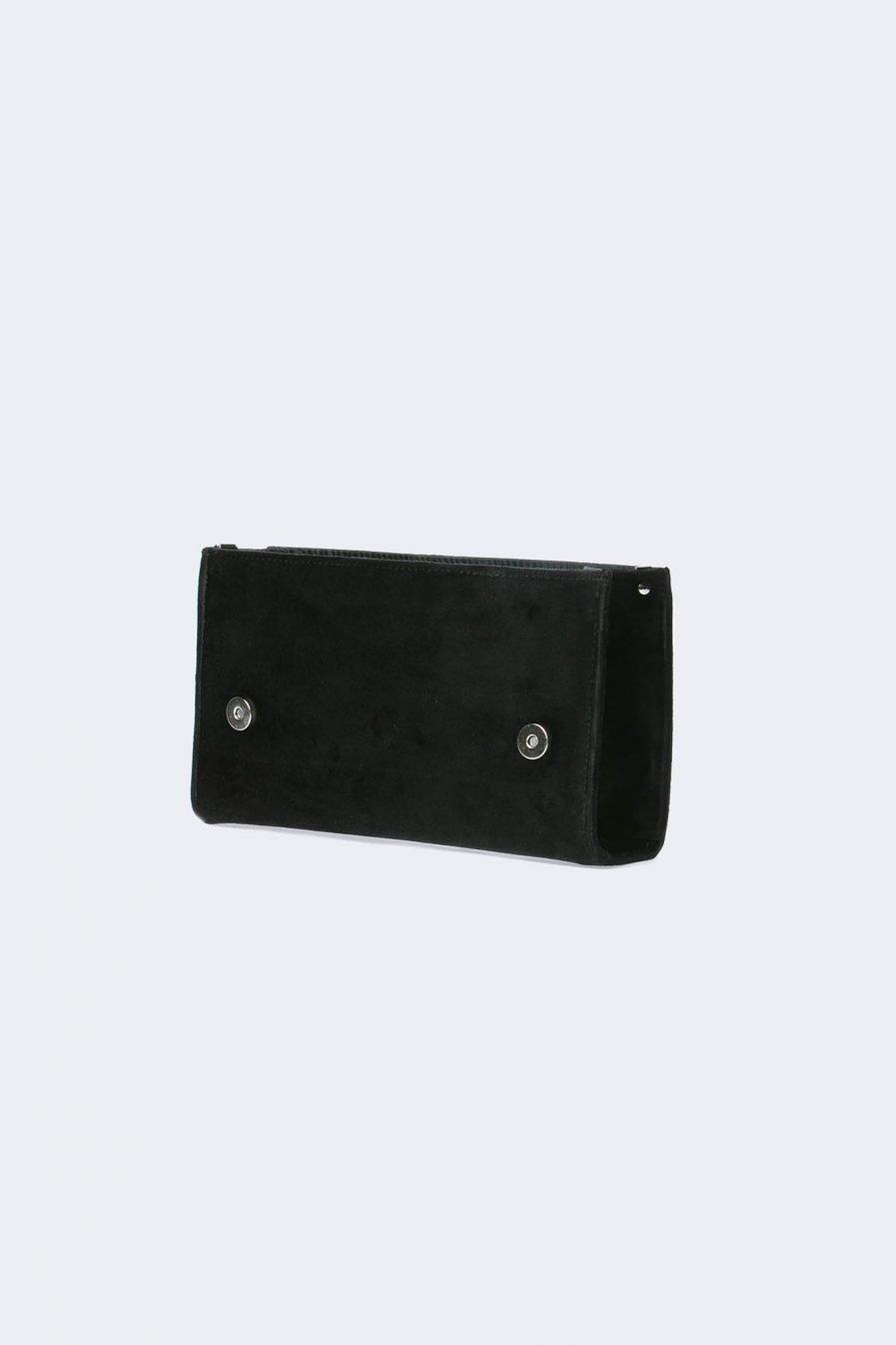 scocca nera velluto per borsa componibile