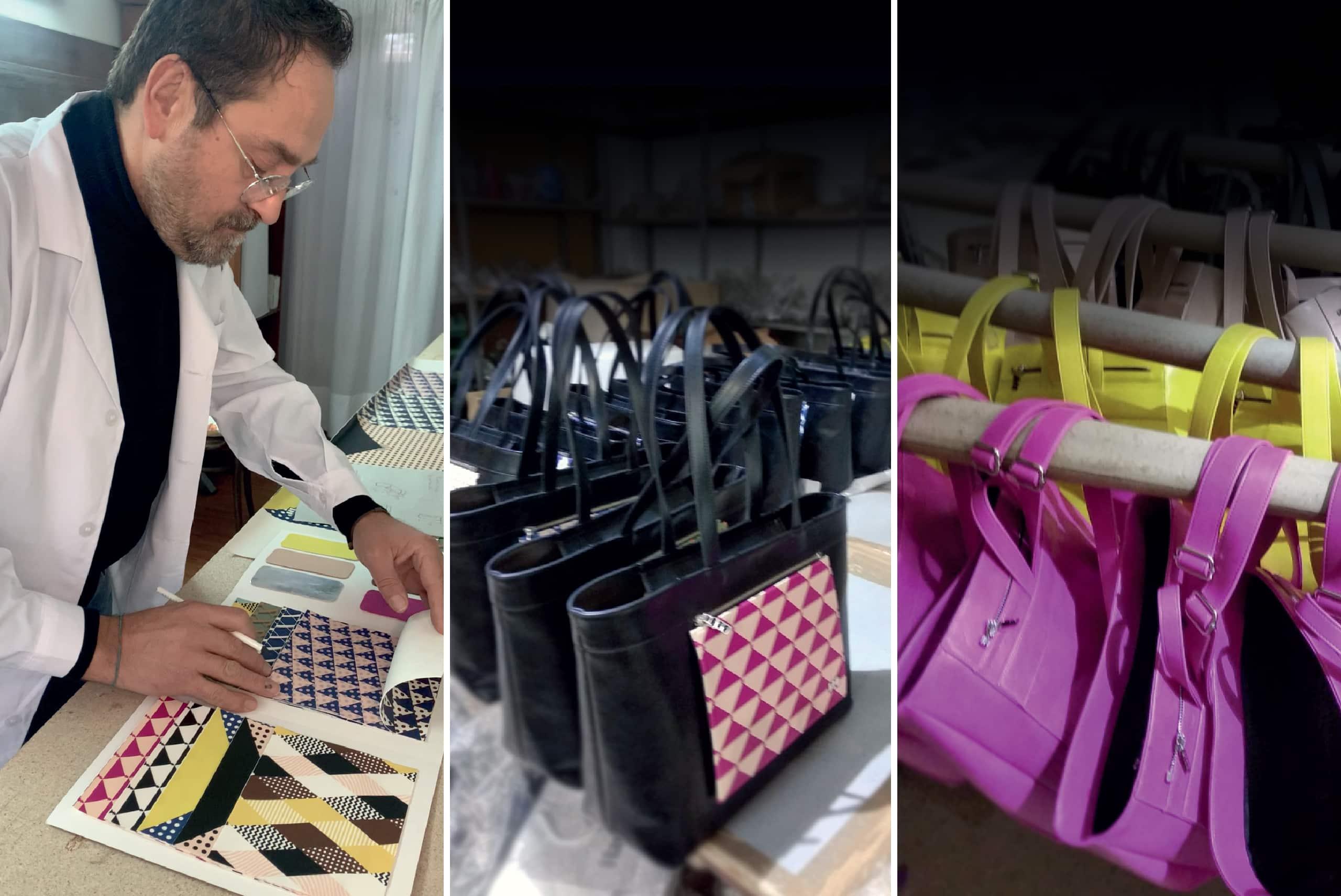 produzione borse artigianali
